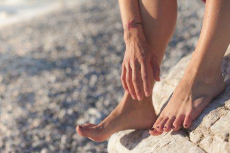 Callosités des pieds