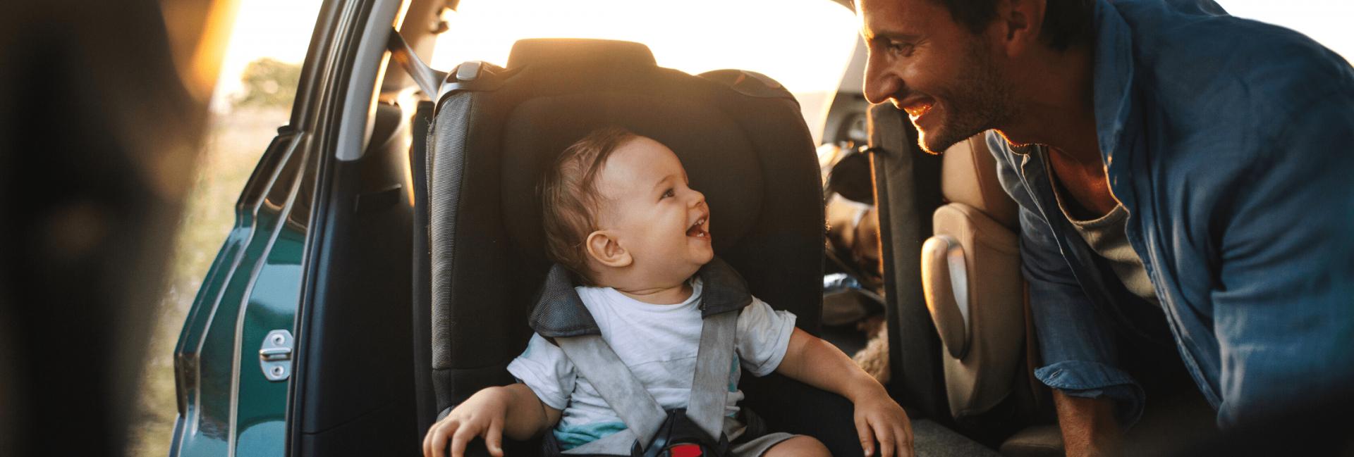 Voyager en voiture avec un bébé de 6 mois